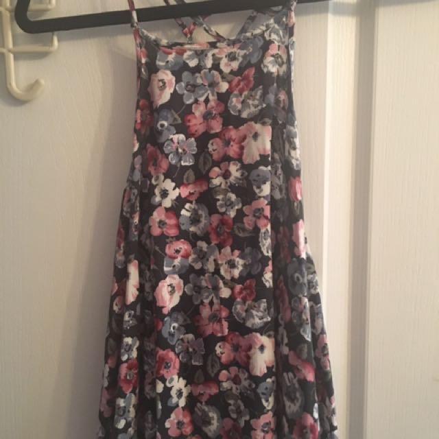 Hollister Floral Dressy Tank