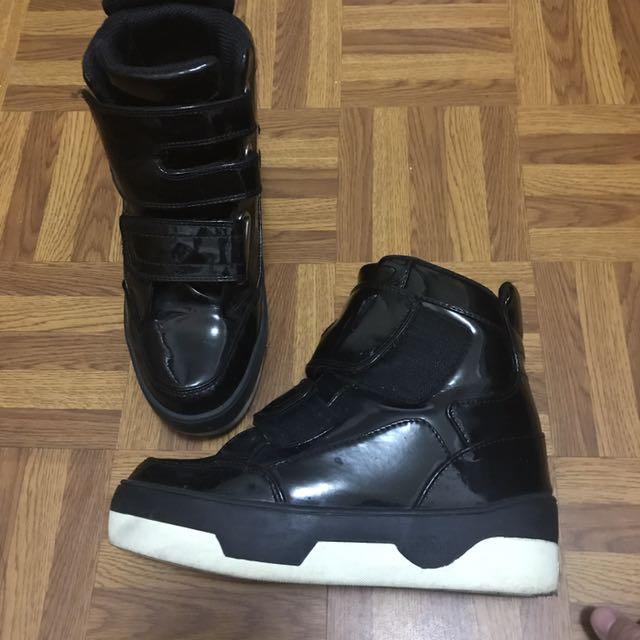 香港IIJIN 增高鞋(香港限量款)黑色 內增高運動鞋 內增高10cm運動鞋 厚底鞋 告別增高鞋墊 (男女皆適合)