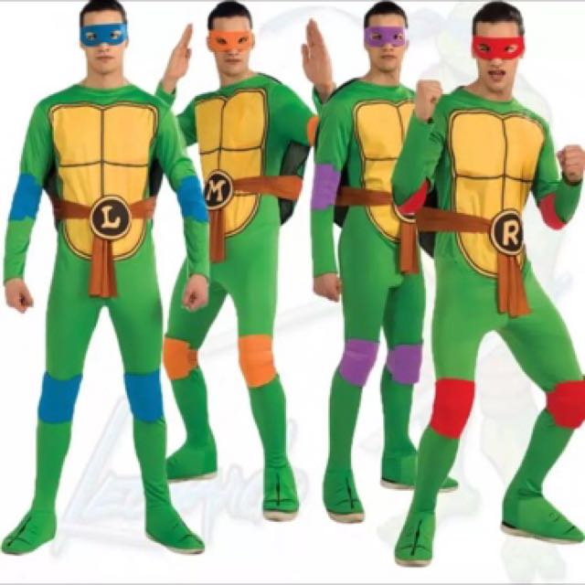 photo photo photo  sc 1 st  Carousell & IN STOCK TMNT Costumes Teenage Mutant Ninja Turtle Costumes Suits ...