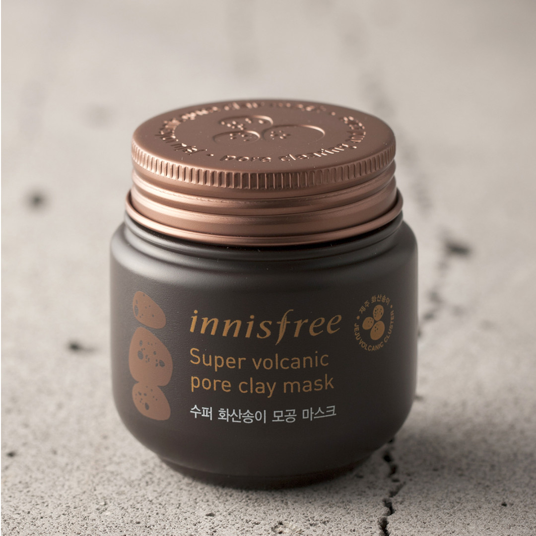 PO Innisfree Super Volcanic Pore Clay Mask NEW!