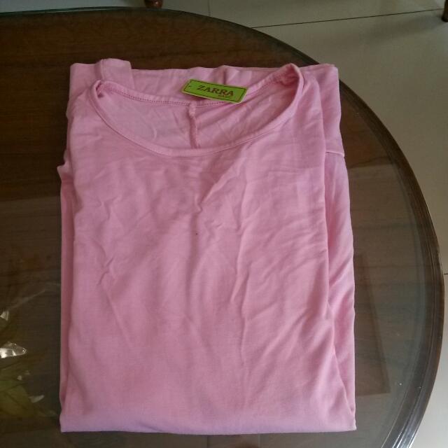 Reprice Kaus Pink Muda