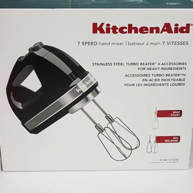403a2b68611 Kitchenaid 7 Speed hand mixer