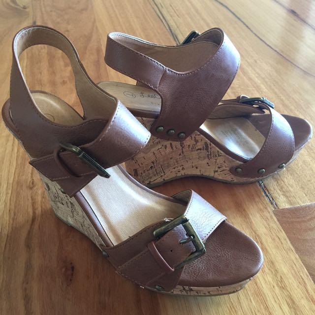 Lee Cooper Wedge Heels