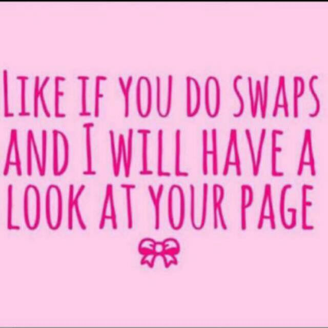 Like For Swaps!
