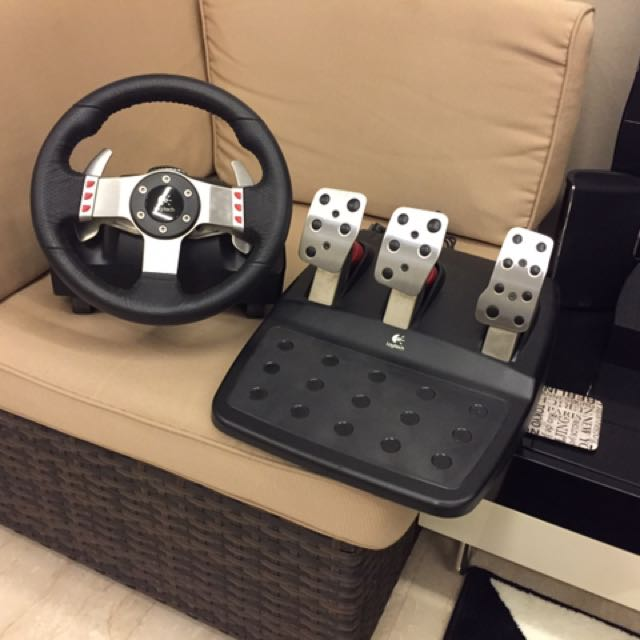 91516b1670b Logitech G27 Racing Wheel - No Shifter, Toys & Games, Video Gaming ...