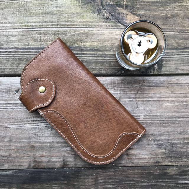 Long Leather Wallet (handmade)