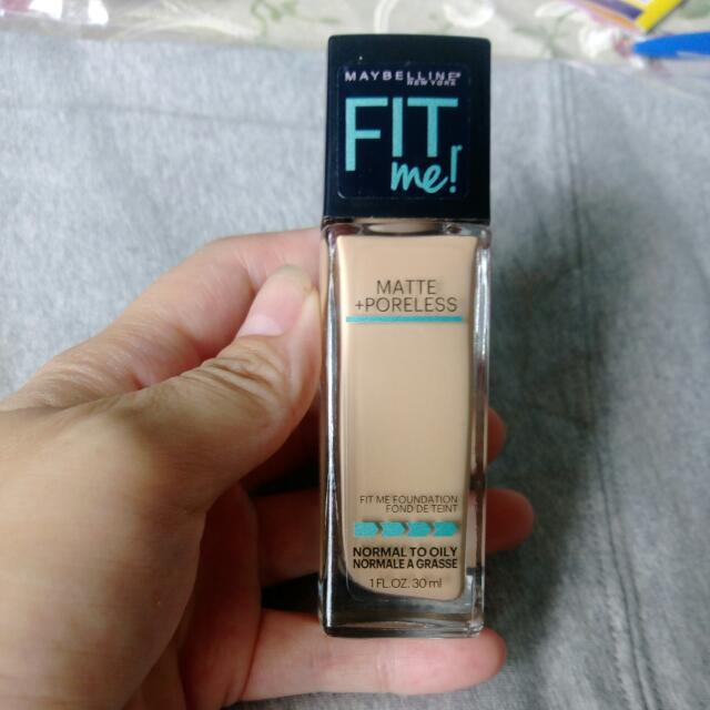 Maybelline Fit Me 美國版