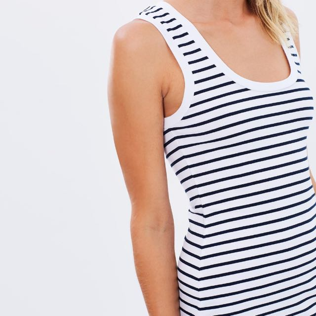 Midi Tank Dress - Striped