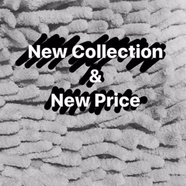 New Collection & New Price
