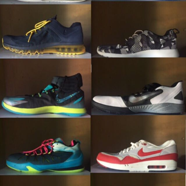 NIKE SHOES (JORDAN, KYRIE ETC)