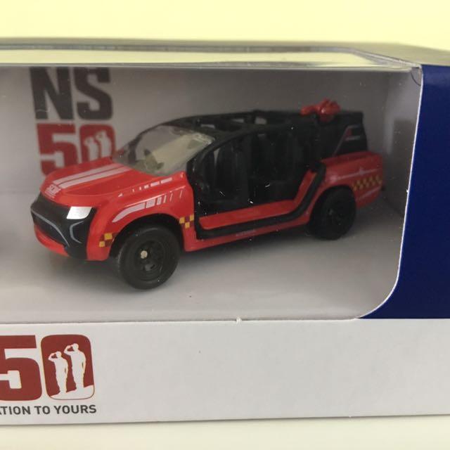 NS 50 SG police car rhino set, Toys & Games, Bricks