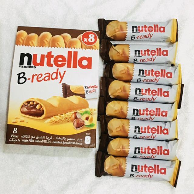Always Restocking Nutella Bready