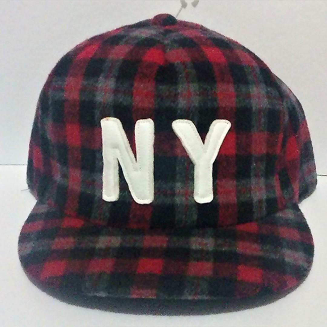ny checkered baseball cap snapback design online shop preorder