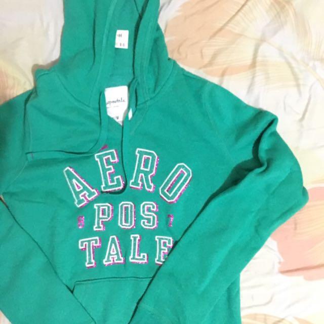 Original Aeropostale Jacket / Hoodie (Green)