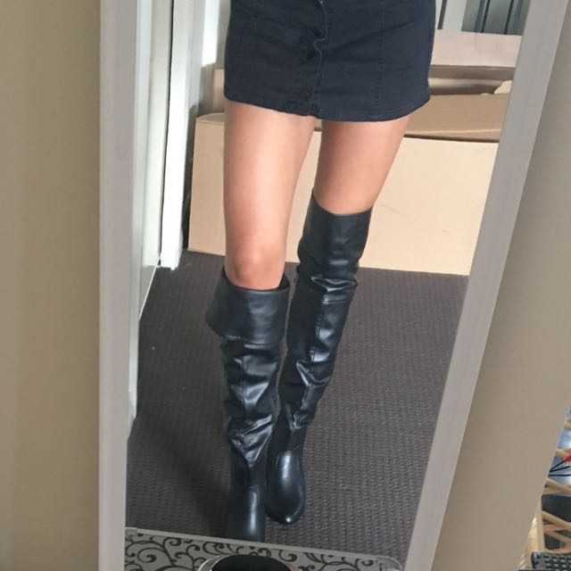 Over The Knee Heel Boots - Patent 8