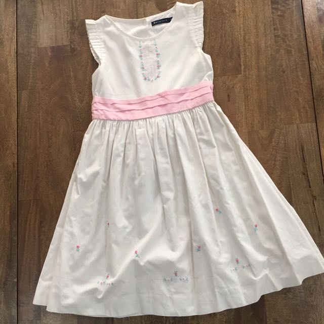 Periwinkle White Dress Size8