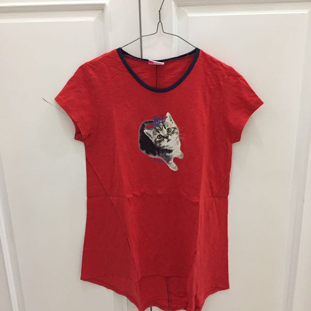 PINK Cat Shirt