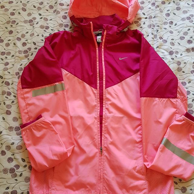 Pink Nike Jacket