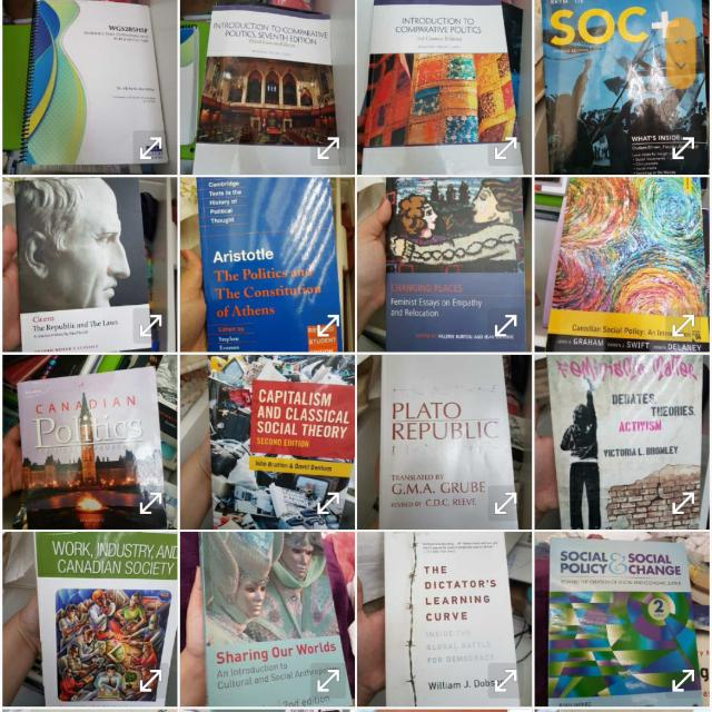 Political Science/sociology/criminology Textbooks