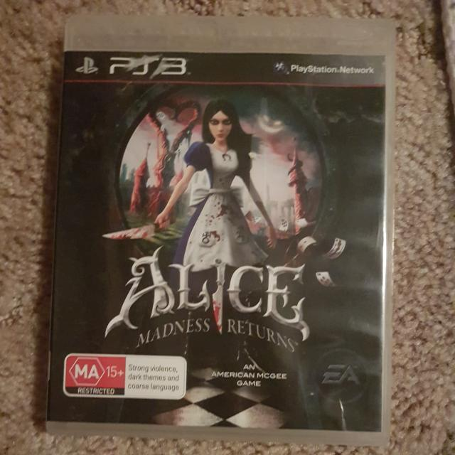 Ps3 Game Alice Madness Returns