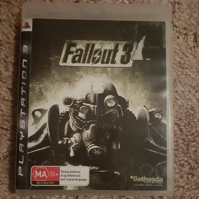 Ps3 Game Fallout 3