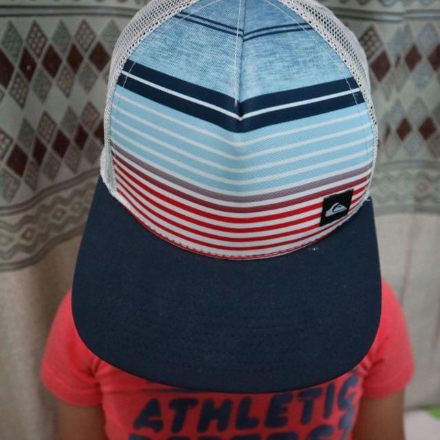 Quiksilver Trucker Hat Boys Size 2y-7y