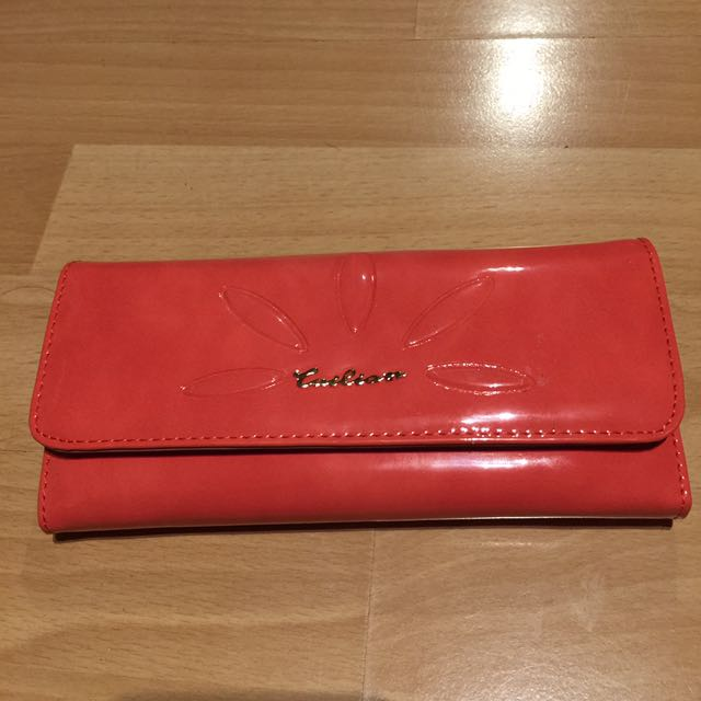 Red Pinky Wallet