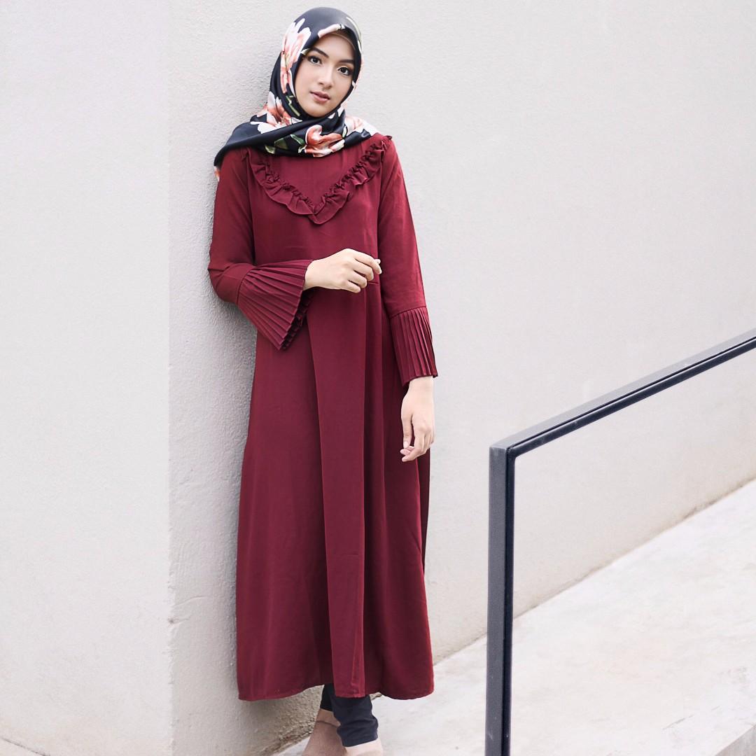 RENAYA DRESS MAROON