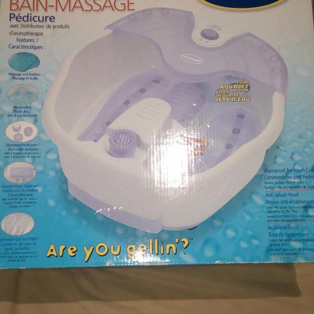 Scholls Foot Spa And Massager