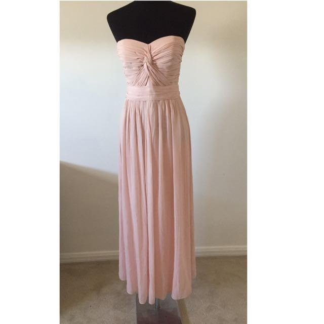 Seduce Be Seduced Luxe Strapless Maxi Dress Gown Size 10