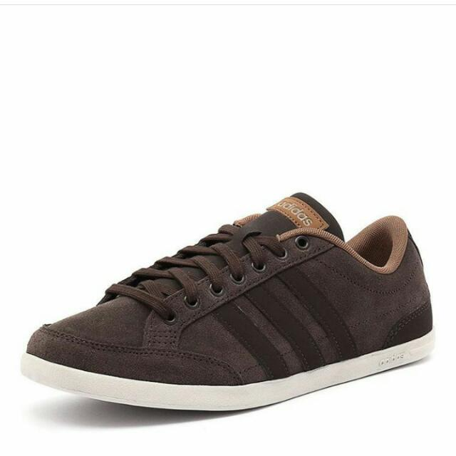 adidas neo caflaire brown