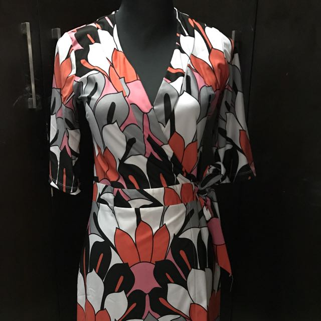 Shapes Wrap Around Dress