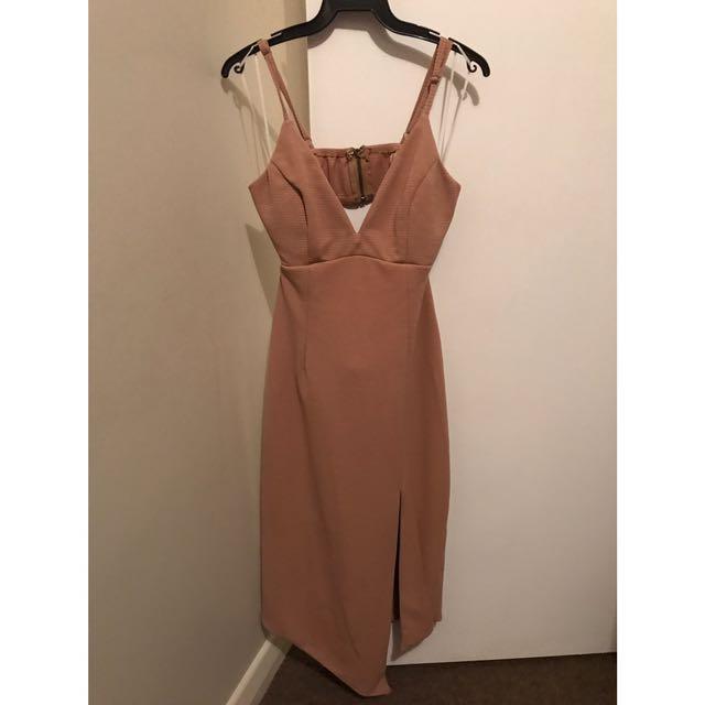 Size 12 - Peppermayo Beige/Brown Dress