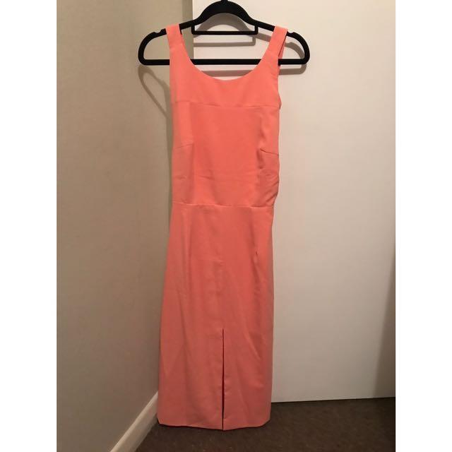 Size M - Peppermayo Peach/Pink Dress