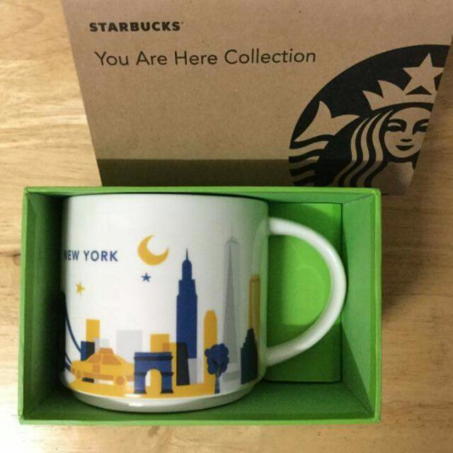 """Starbucks New York City Mug You are Here Series"""