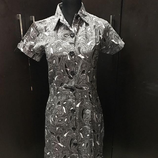 U by Rustans Button Down Dress