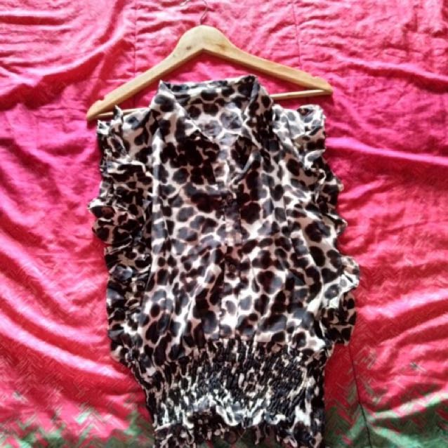 Unbranded Leopard Top
