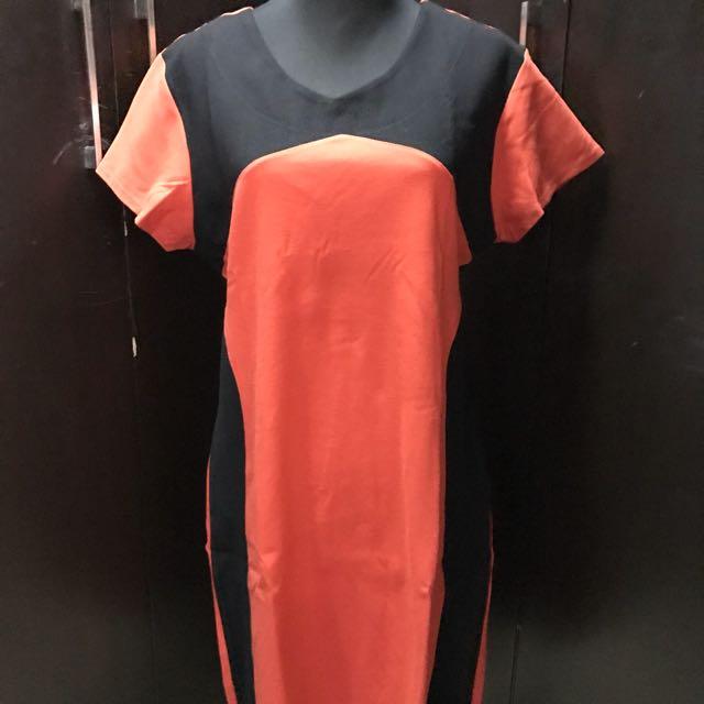 Unbranded Red Shift Dress