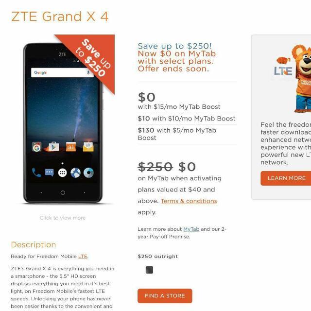 *UNLOCKED* *NEW* ZTE GRAND X4 Z957 PHONE