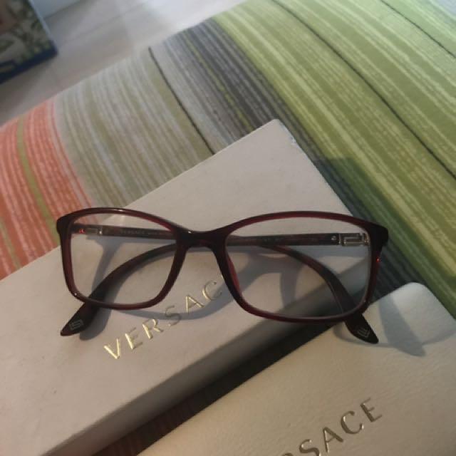 versace eye frame