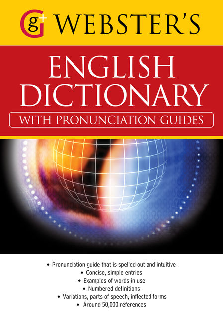 Webster English Dictionary with Pronunciation Guides