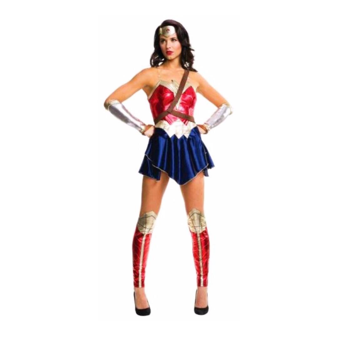 Wonder Woman Dawn of Justice Batman Superman Ladies Adult Hero Licensed Costume