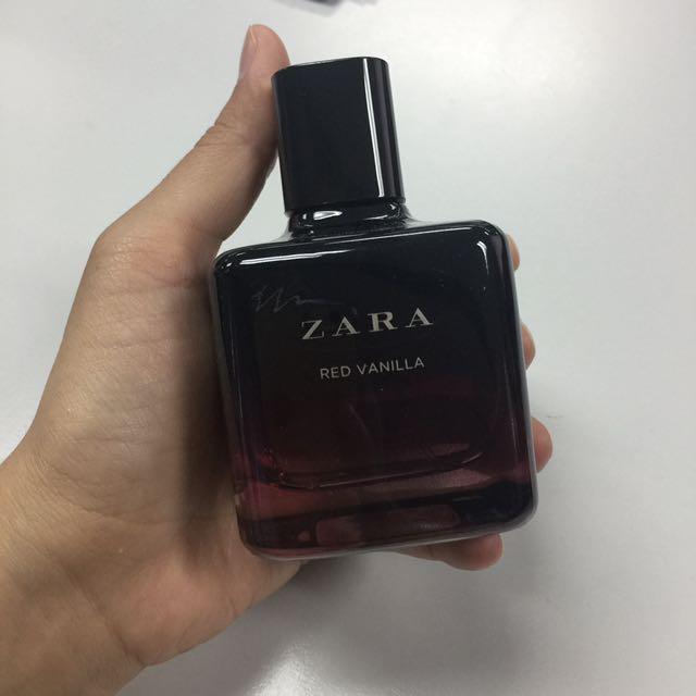 Zara Red Vanilla Perfume Health Beauty Perfumes Nail Care