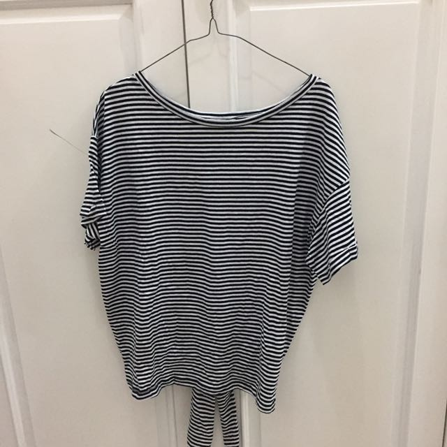 ZARA TRF Stripe Shirt