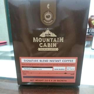 Mountain Cabin 招牌即溶黑咖啡