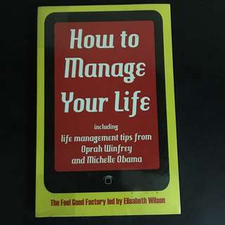 How to Manage your Life