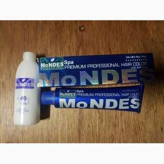 SG- Mondes Hair Color & Oxidizing Cream