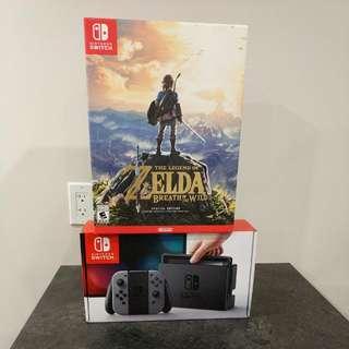 Nintendo Switch + Zelda Special Edition