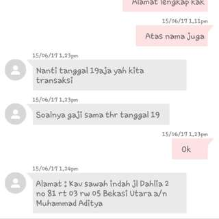 BLACKLIST BUYER !. PHP. Udah Booked Cancel. ! Buang-buang Waktu.