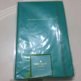 Kate Spade Turqouise Notebook